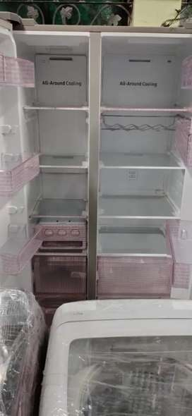 New latest technology refrigerator side by side Samsung