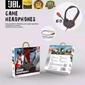 headset headphone handsfree jbl at-111 game  gamers gaming