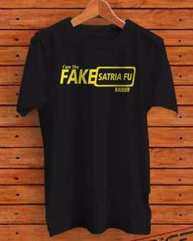 Jual Kaos Fake Satria FU - Kaos Otomotif