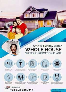 Water Purification Plant - Safe & Healthy Water for Whole House