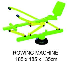 Rowing Machine Outdoor Fitness Super Murah Garansi 1 Tahun