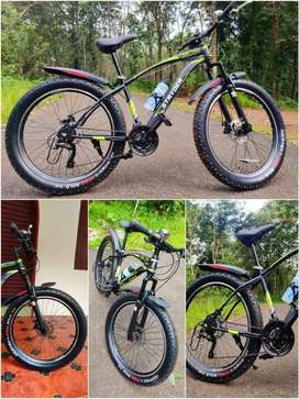 Tata Stryder MTB Gear cycle with Fat Tyres