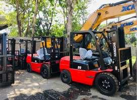 jual Forklift 2,5 – 3 – 5 – 7 – 10 Ton Murah di Makassar