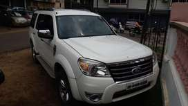 Ford Endeavour 2012 Diesel Well Maintained White Color