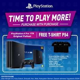 Playstation4 PS4 Pro Original 4K HDR Siap libas PES2020 FIFA2020