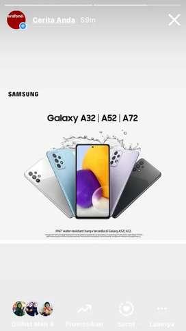 Samsung Galaxy Seri Terbaru A32 A52 Dan A72