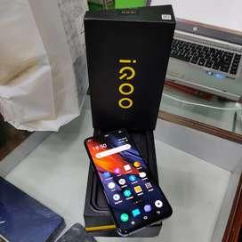 Sky mobiles Vivo iQoo mobile 8gb ram 256gb ROM memory