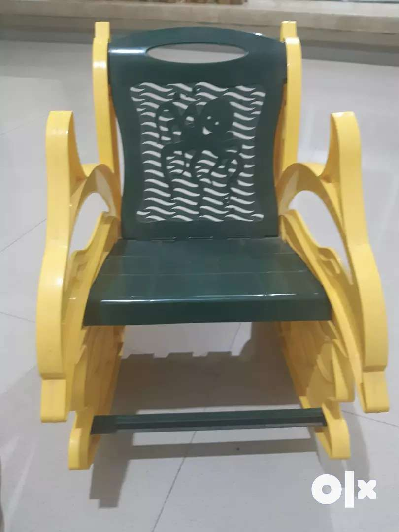 Dolphin shaped rocking chair for kids 0