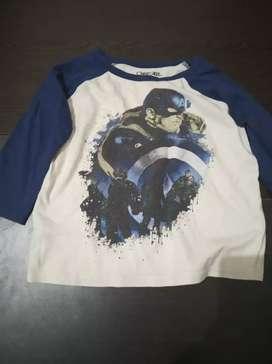 2 pcs sale baju kaos anak laki laki murah