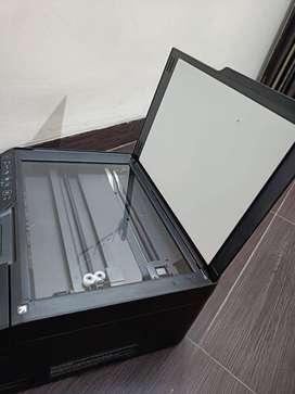 Brand new printer box open