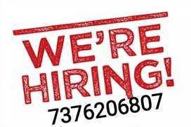Part time work available, we are hiring. Hurry up.