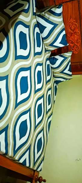 Variety BedSheet Export Quality KING SIZE 3 Pieces  Pure COTTON .