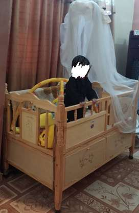 Wooden Baby Cot Free for Needy Person,