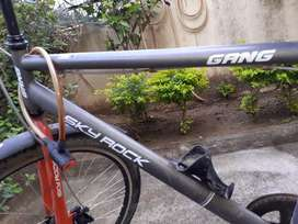 Gang cycle sky rock with additional disc brake