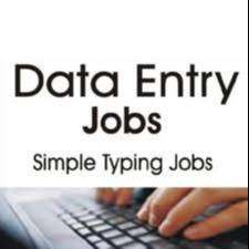 Data entry work:- online typing Home base job