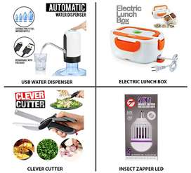 Home Appliances Tools Kit Portable Heater Water Dispenser Lunch Box