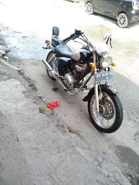 Sanex QJ 150cc SS lengkap