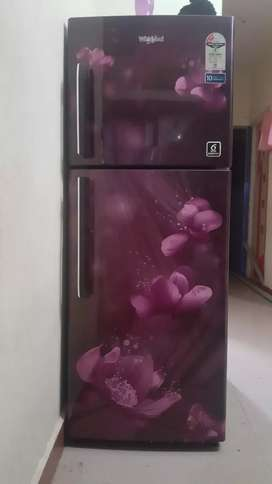 Whirpool double door fridge