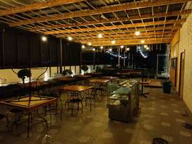 Fully Furnished New Restaurant For lease