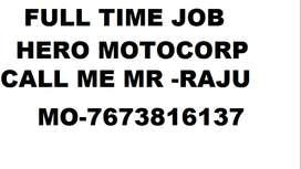 Hero motocorp company helper, supervisor, store keeper 100% job  10th