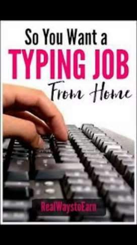nice easy job karachi workers need for online typing home job
