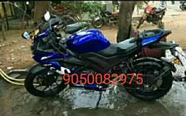 Good Yamaha R15 bike