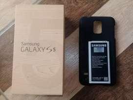 Galaxy S5 baterai original plus box hardcase