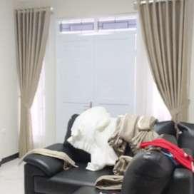 Interior Gordyn Gorden Rumah Wallpaper Vitrase Decor Blinds, 162