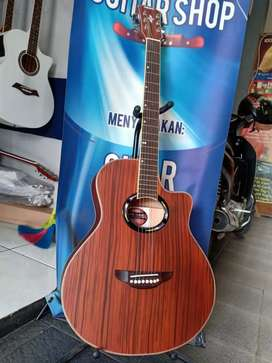 Gitar akustik neck rendah