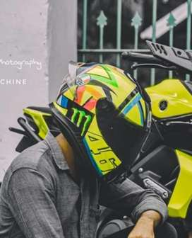 Mt thunder 3 helmet wrapped to agv edition
