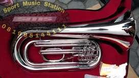 Tuba Trumpet Terompet Marching Amstrong Original import Komplit New!!
