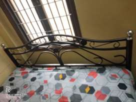 Double / Queen size wrought iron bed for sale