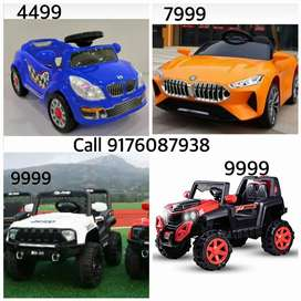 Kids driving cars bikes jeeps at offer price ride on toys gift