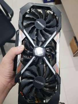 VGA / GPU NVIDIA 1080 TI mulus banget