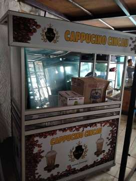 Paketan Lengkap Cappucino Cincau Gerobak standar