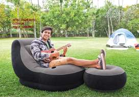 Intex Chair With Cushion preserving the air mattress secure from punct