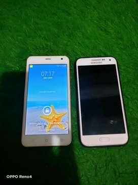 Samsung dan Advan minus