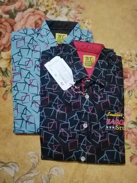 Cotton Summer boys Casual tee shirts (mix size 20 to26)