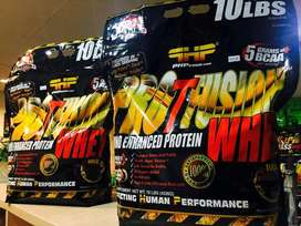 PHP Nutrition Whey Pro T Fusion 10lb Whey Isolate Blend Plus Amino