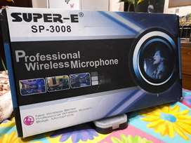 Professional wirless microphone
