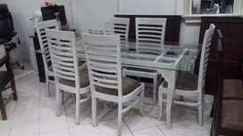 New brand six seater dinning table