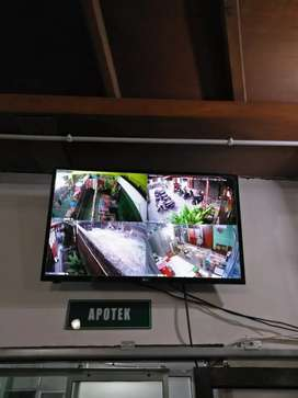 Cctv Hikvision 2 MP Turbo HD Paket 4 Kamera + Pemasangan