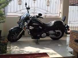 Vento Thunder mesin V Twin 2010 Body 2 Harley Fatboy & Sportster
