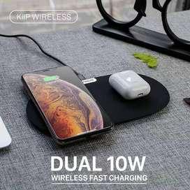 READY Kiip Dual Wireless Charging pad - Fast Charging 10W