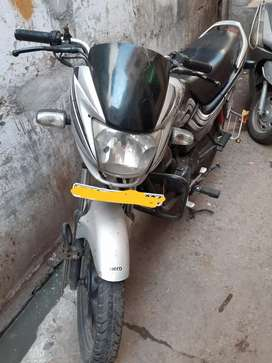 Bike for sale and urgent selling .