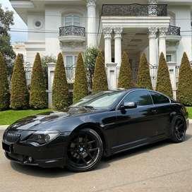 BMW E63 630i 2005 Coupe Black on Beige Rare Condition