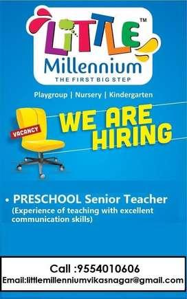 Senior Preschool Teacher