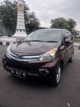 Toyota New Avanza 1.5 Tipe G 2012 Manual