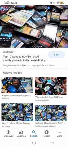 Buying and selling mobiles