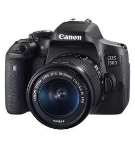 Kamera canon 750d cash n credit